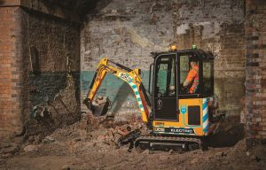 Leading the Charge: We Deep Dive into JCB's Impressive New Electric Telehandler and Electric Mini Ex with a Cab