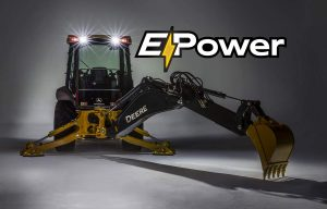 John Deere Is Testing Its First Electric-Powered Backhoe with National Grid (a Northeast Utility)