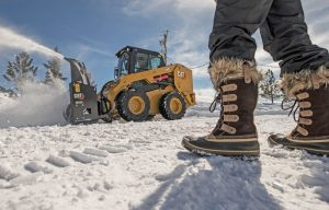 Ready to Chill: Prepare that Skid Steer or Track Loader for Snow Work