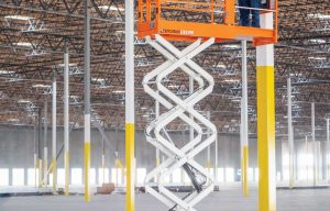 In or Out: 19-Foot Scissor Lifts  Offer Operators Reach on a Variety of Jobsites