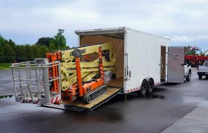 Prime Mover: The Brute Series of Enclosed Trailers Are Built Beefy for Compact Equipment like Skid Steers and Scissors Lifts