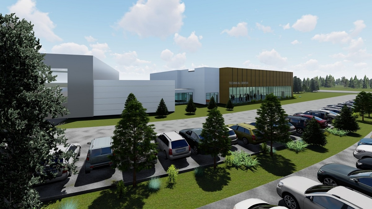 Volvo Training Center Rendering