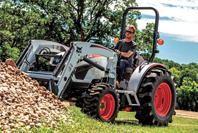 Bobcat's line of compact tractors