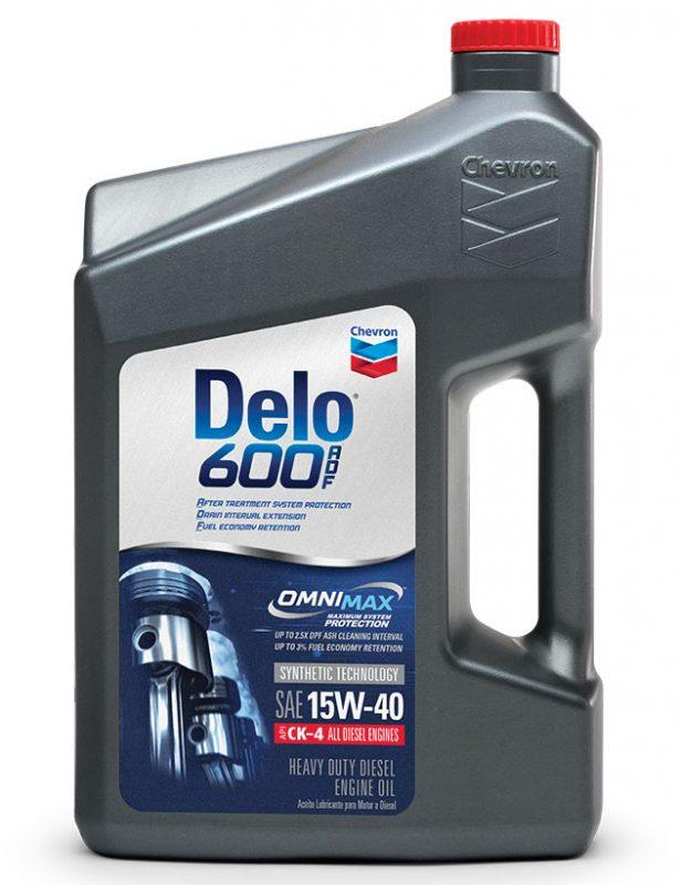 Chevron's Delo 600 ADF Oil