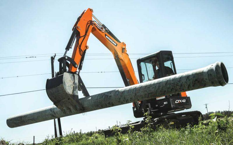 Doosan Hydraulic Excavator Clamps