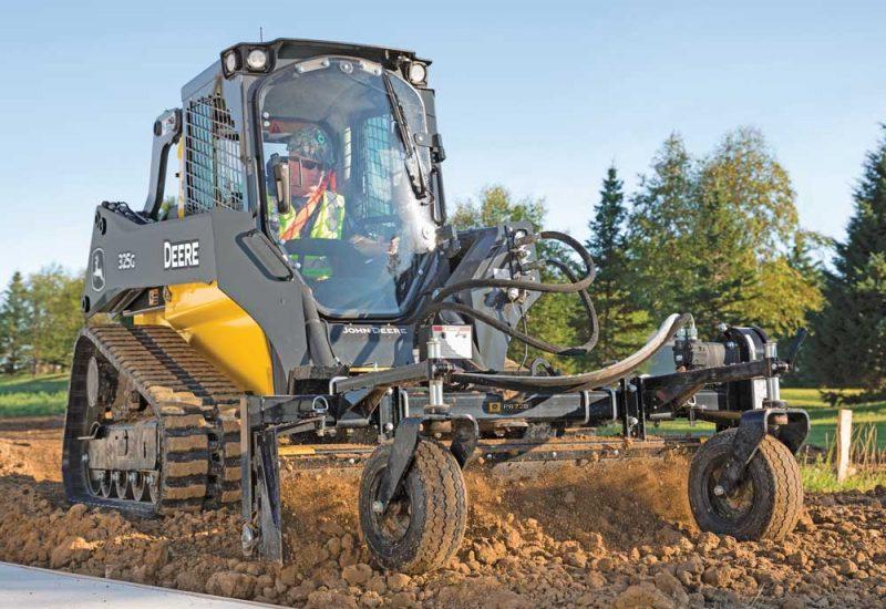 John Deere 325G track loader
