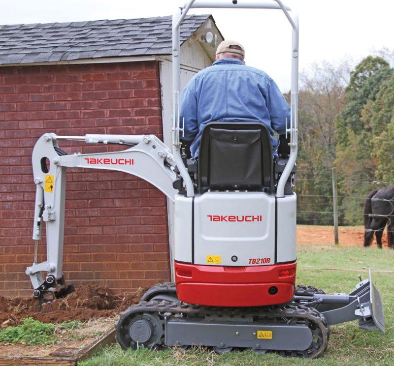 Takeuchi TB210R excavator