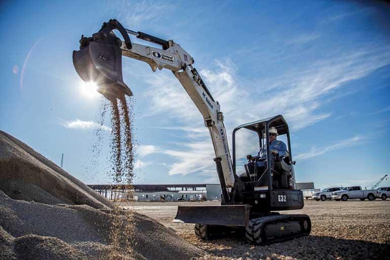 United Rentals Mini Excavator