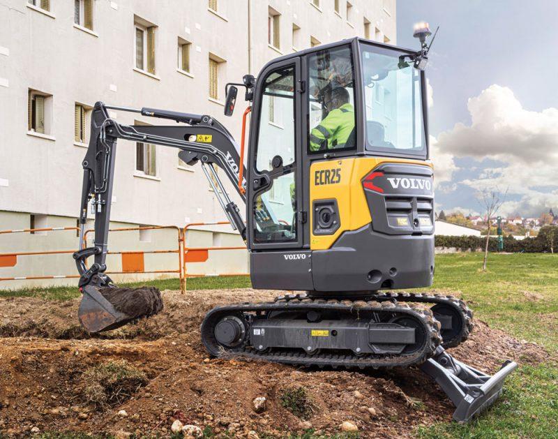 Volvo ECR 25 excavator