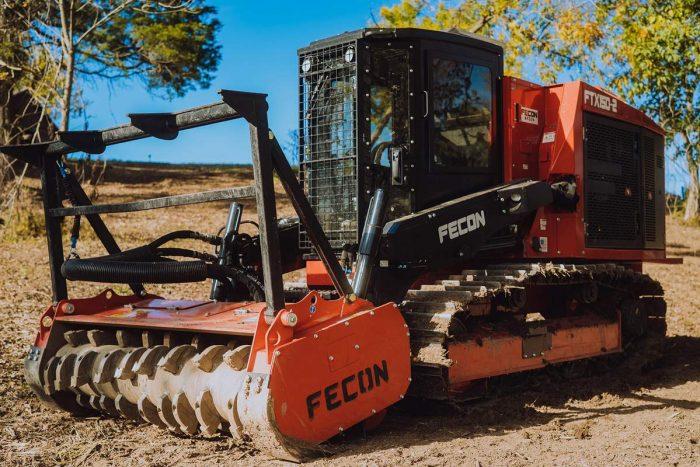 Fecon mulching track loader