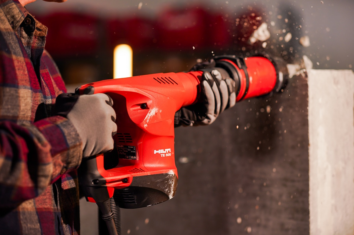 Hilti TE 500 demolition hammer