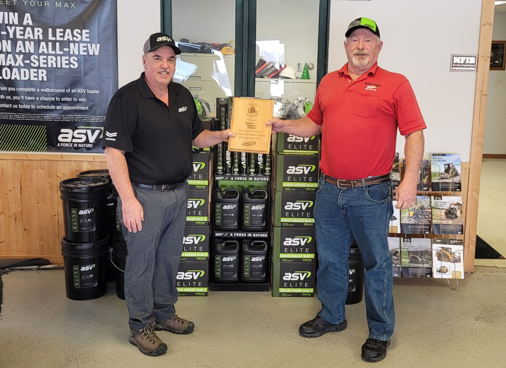 ASV dealer of the year