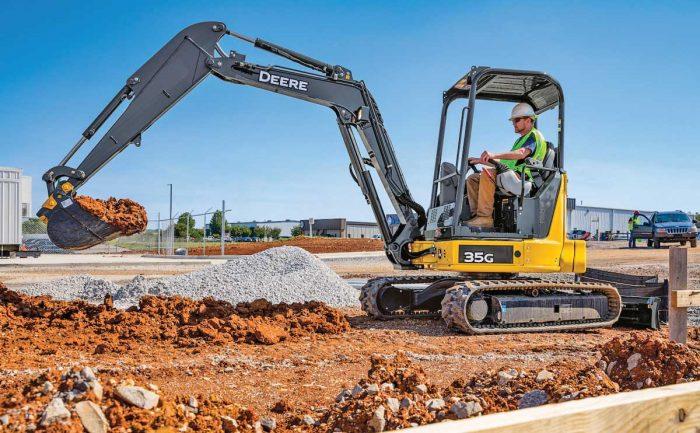 John Deere 35G excavator