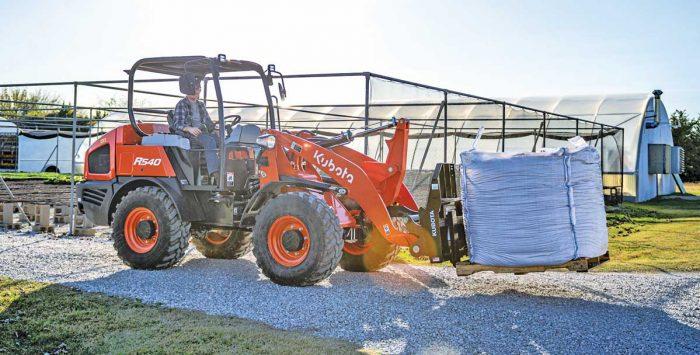 Kubota R540 wheel loader