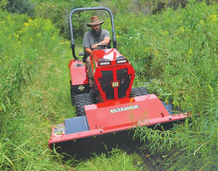 Steiner Rough Cut Mower