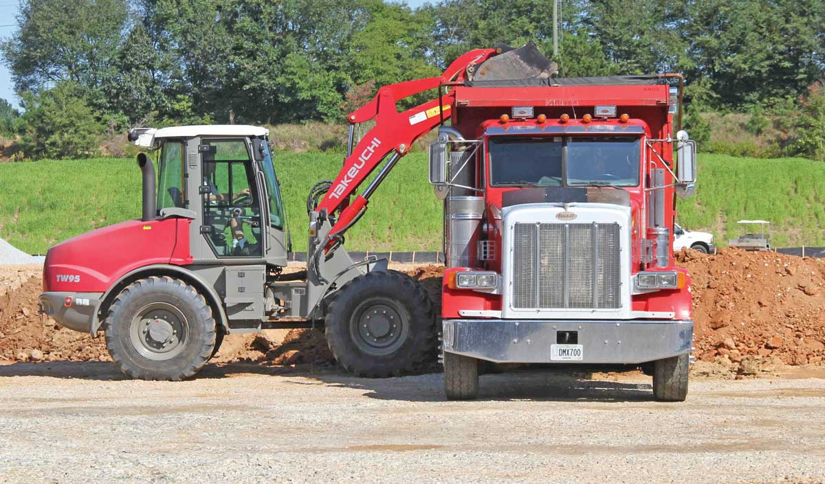 Takeuchi TW95 wheel loader
