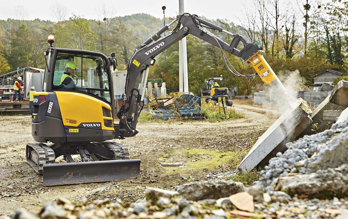 Volvo ECR350 excavator