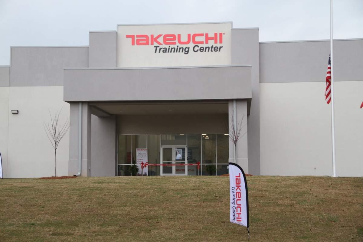 Takeuchi Training Center front entrance