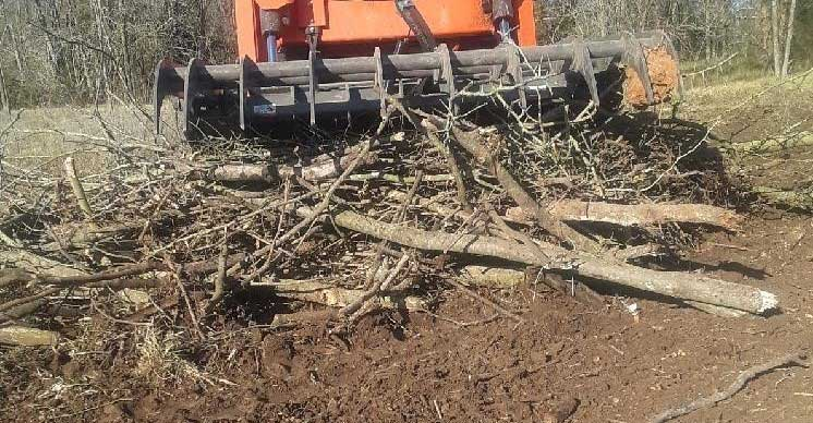 Berlon root rake grapple