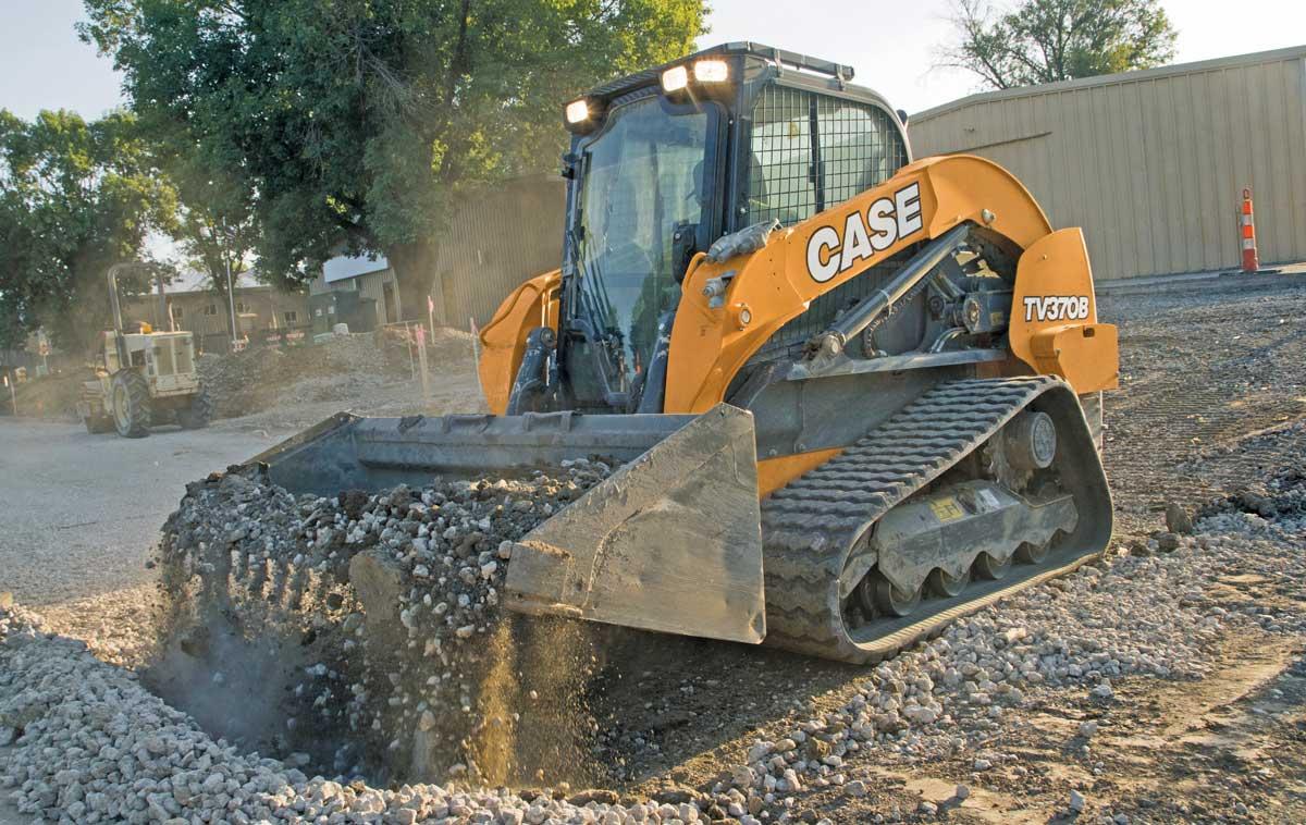 Case TV370B track loader