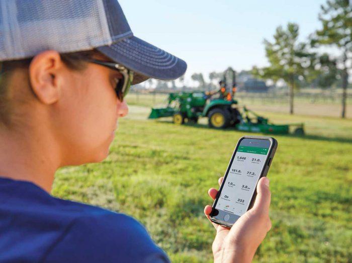John Deere TractorPlus App