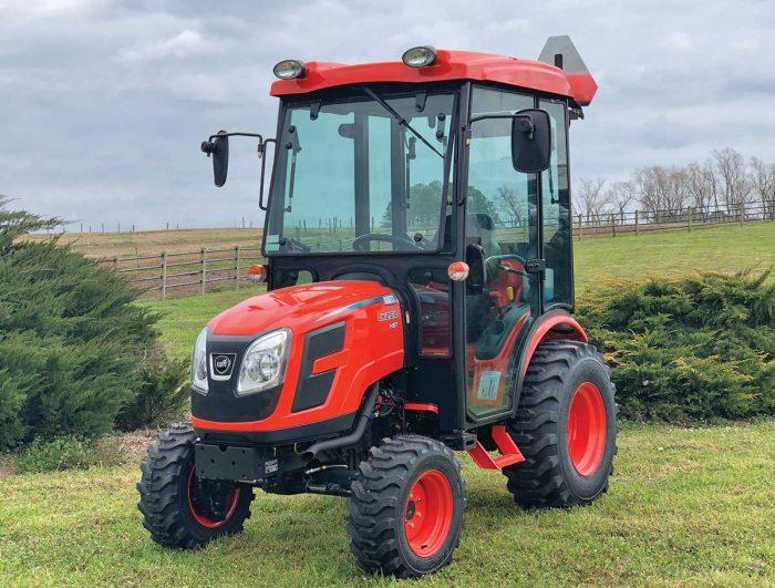 Kioti Tractor's field option cab series