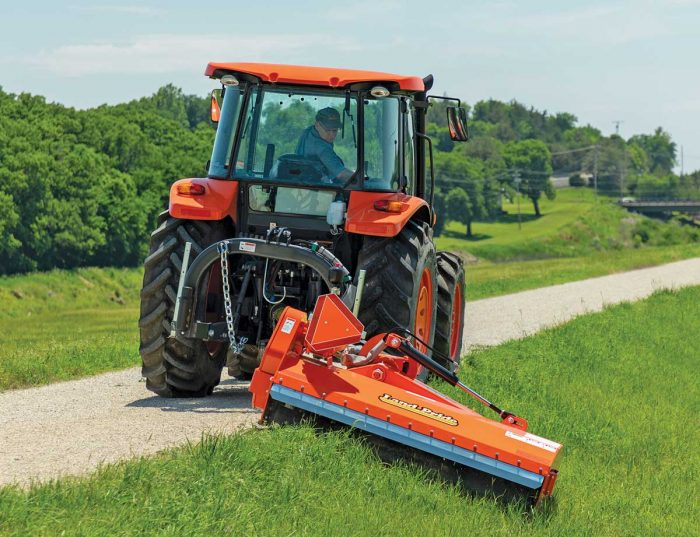 OFM26 Series Offset Flail Mowers