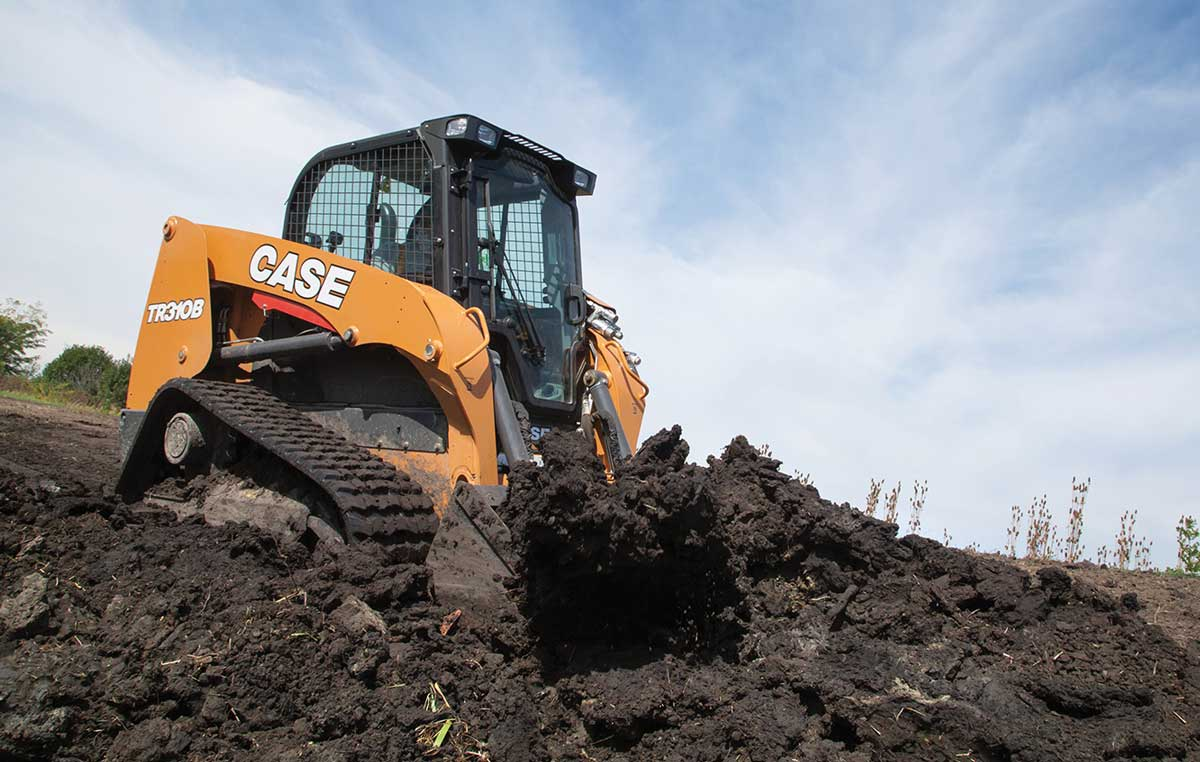 Case TR210B track loader