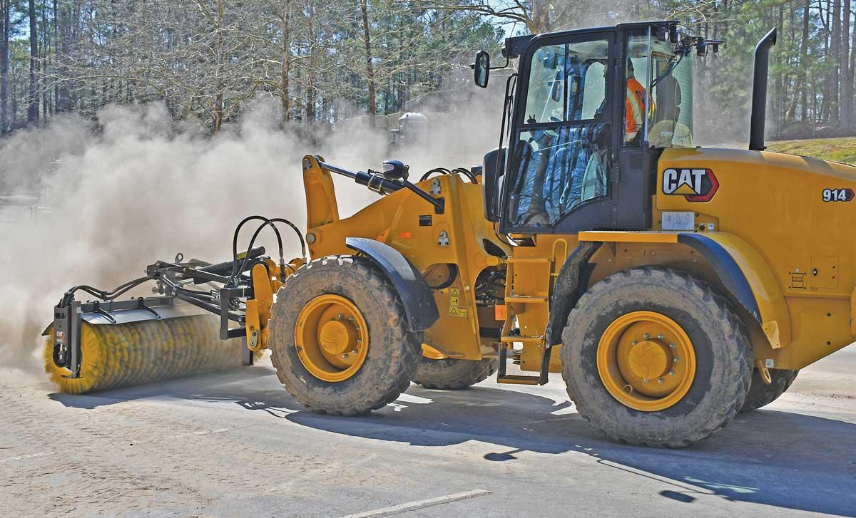 Caterpillar 914 wheel loader