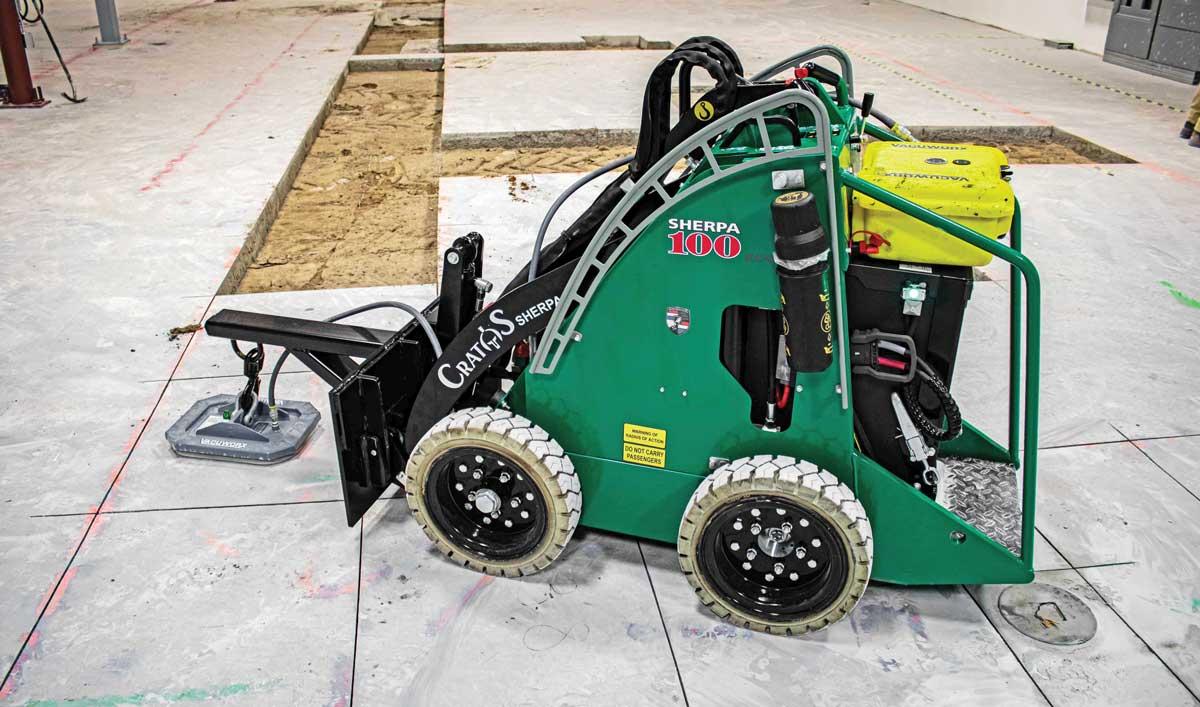 Cratos Equipment tool carrier