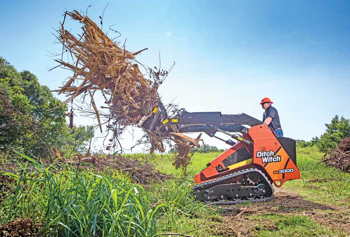 Ditch Witch SK3000 tool carrier