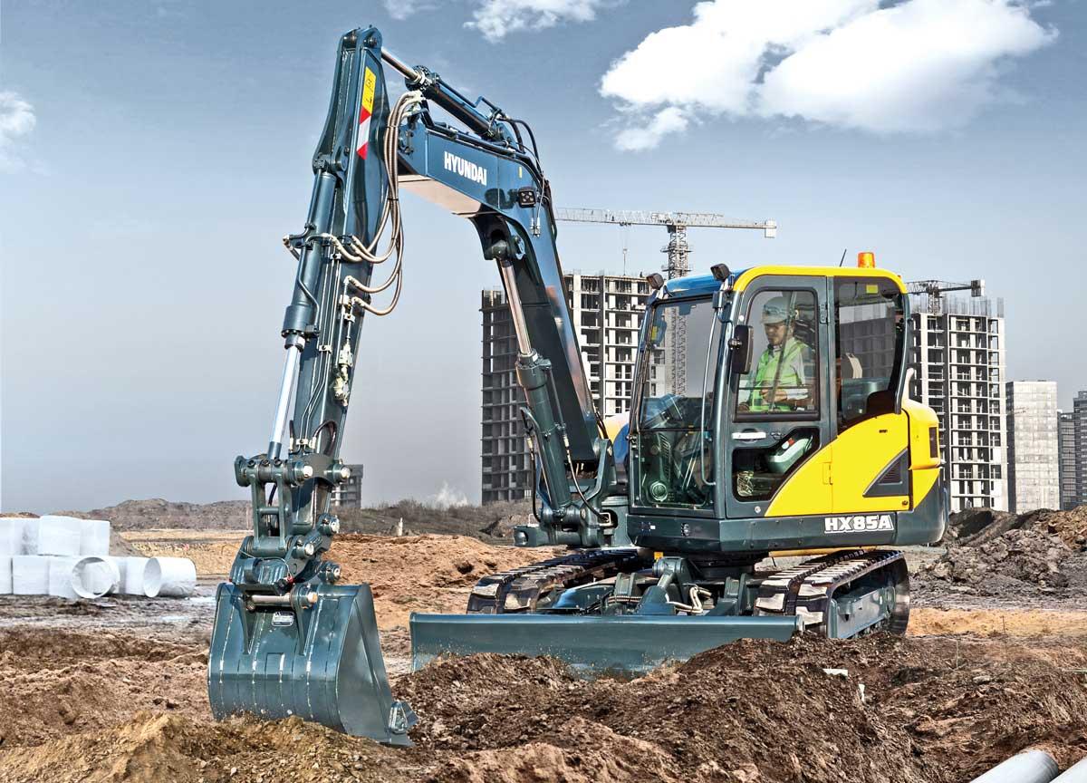Hyundai Construction Equipment Americas excavator
