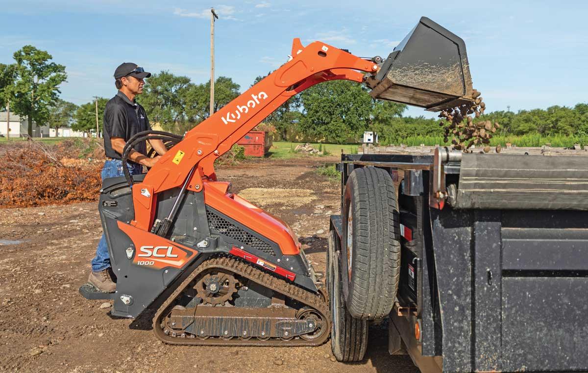 Kubota SCL1000 tool carrier