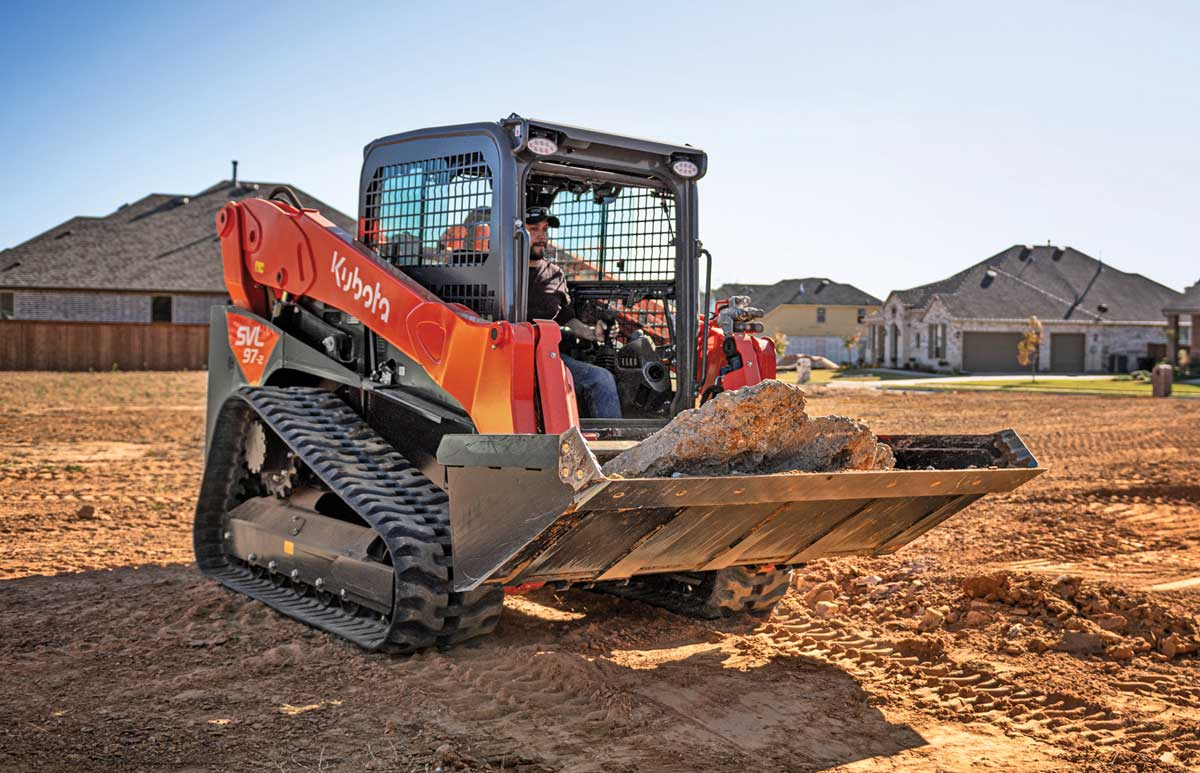 Kubota SVL972 track loader