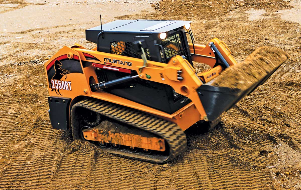 Mustang by Manitou track loader