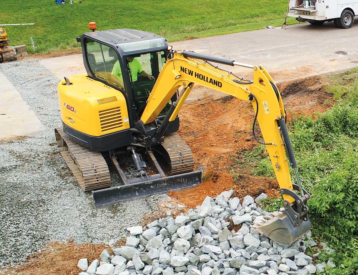 New Holland Construction excavator