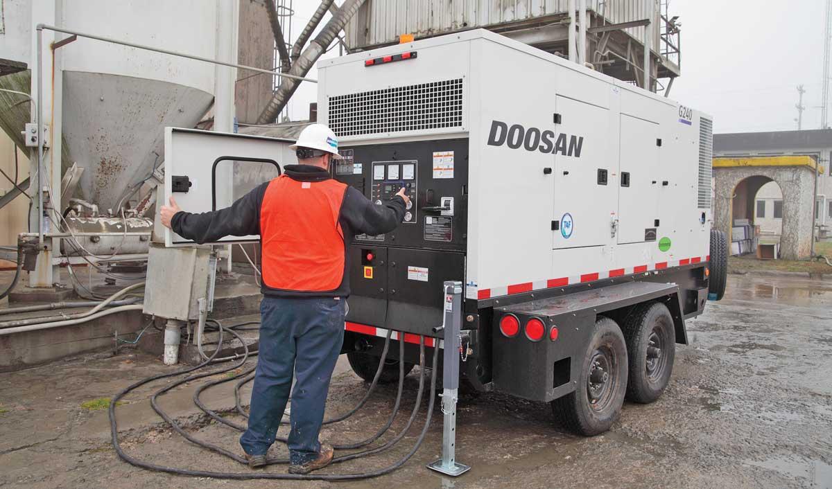 Doosan G240 Generator
