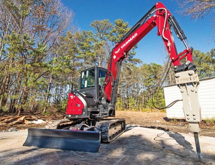 Yanmar Vi055 excavator