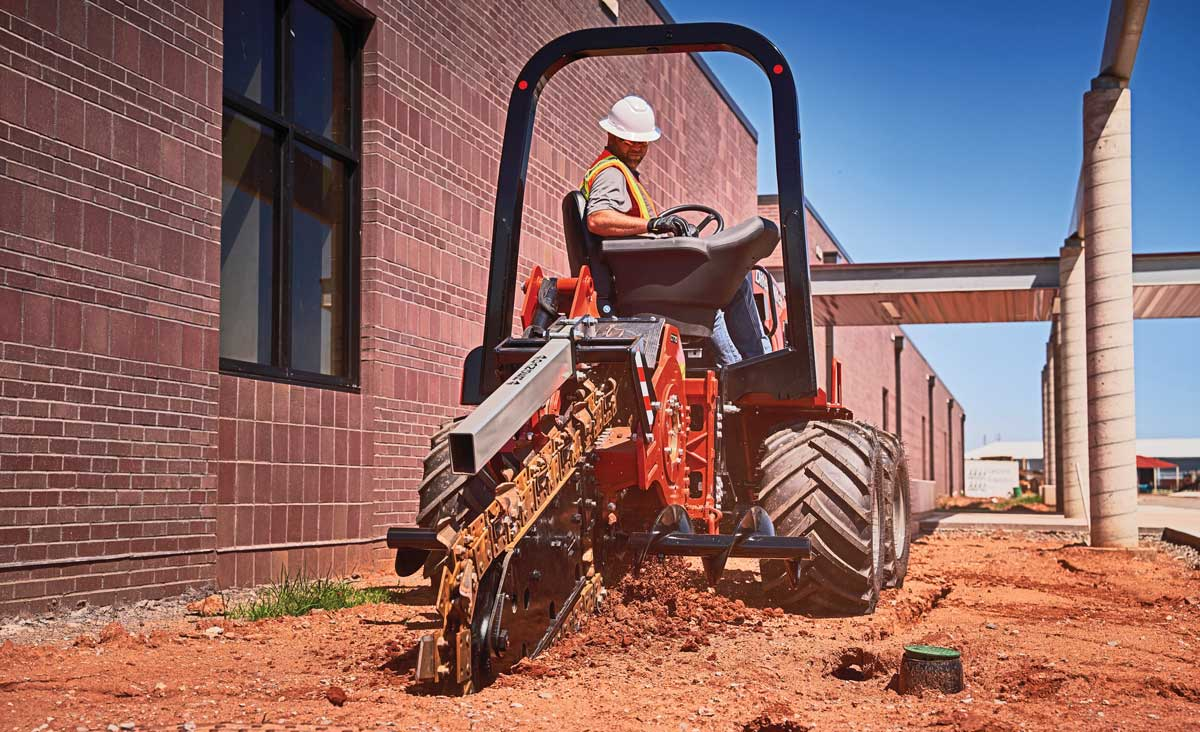 Ditch Witch RT70 trencher