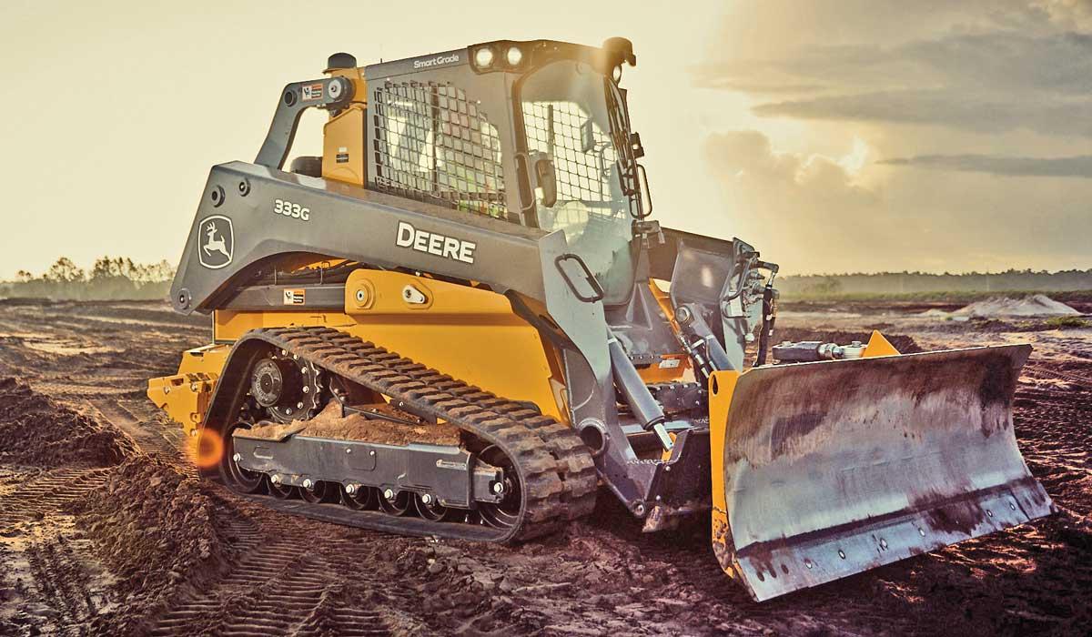 john Deere 333G track loader