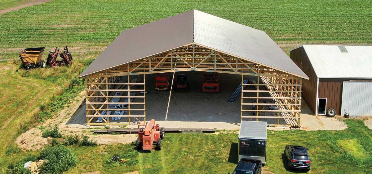 pole barn- exterior