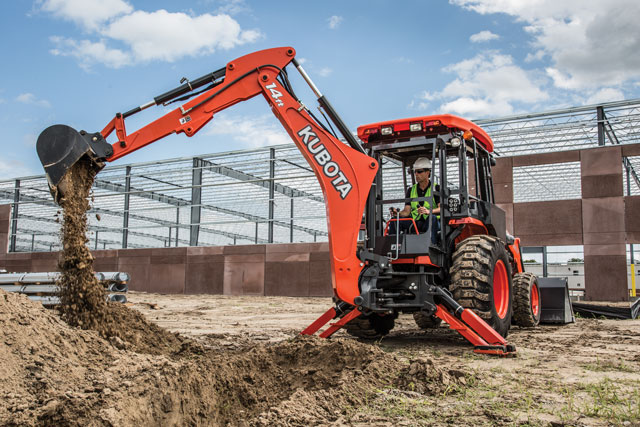 Innovative Iron Award: Kubota's New L47 and M62 Tractor Loader Backhoes