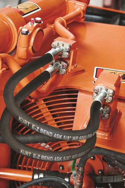 Kurt Hydraulics E-Z Bend 4SH Hose