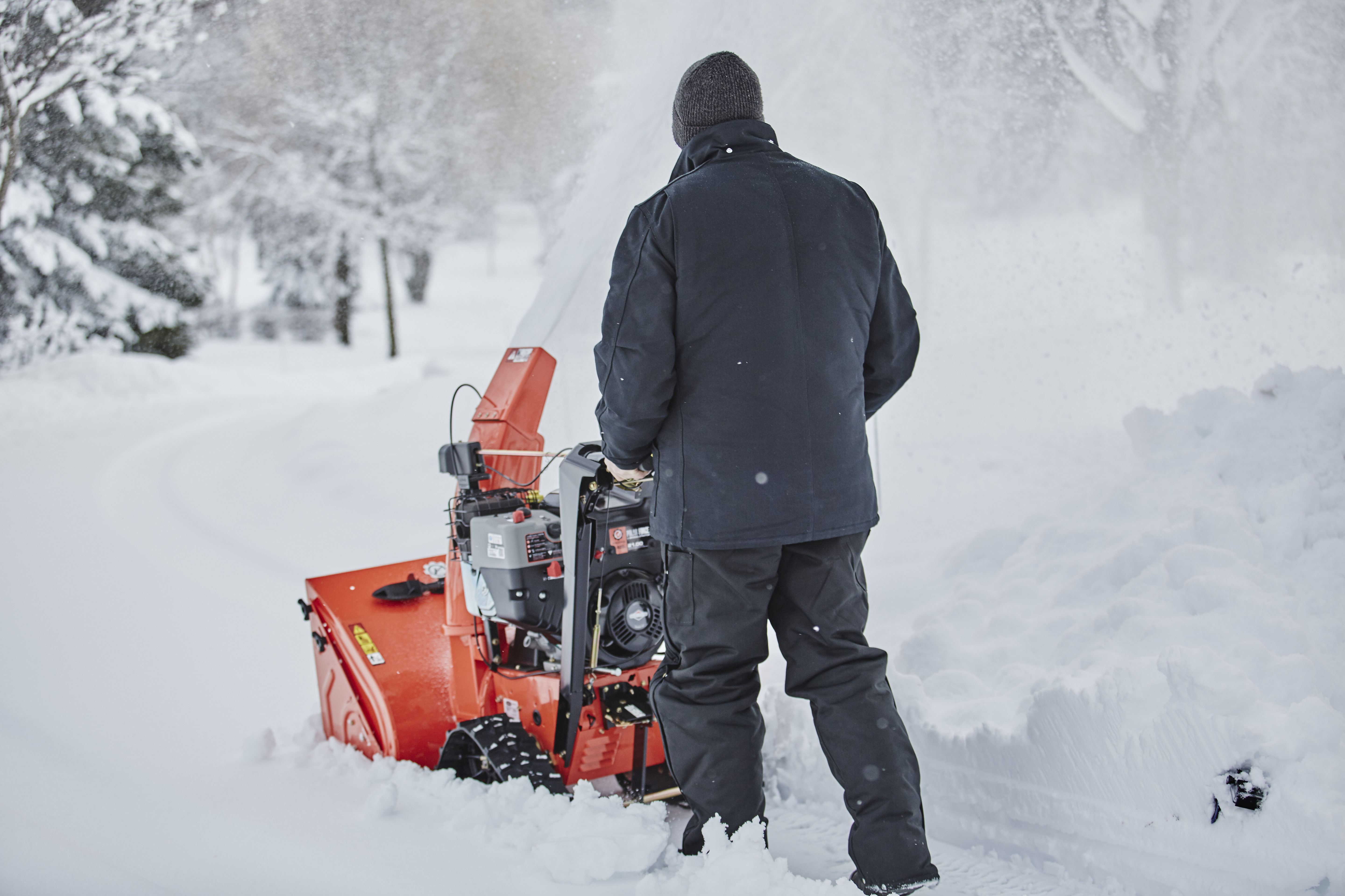 Gravely snow thrower blower