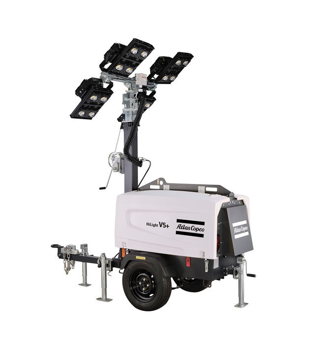 Atlas Copco's New Light Towers Shine Light on Operational Savings