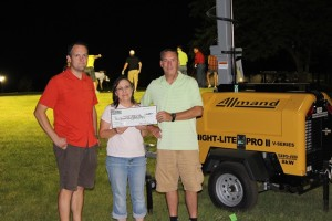 The Aug. 16 tournament, which raised $11,001.21, benefited Give2Grow Phelps County.