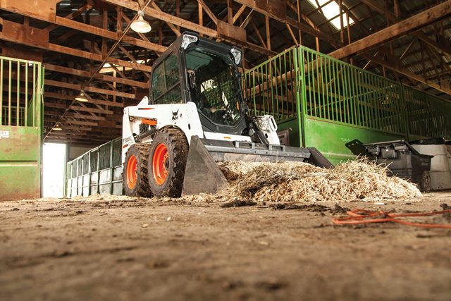 The Bobcat S450 skid steer loader expands the company's M-Series lineup and replaces the K-Series S130 skid steer.