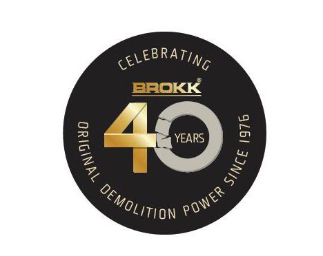 Remote-Control Demolition Experts Brokk Celebrate 40 Years of Innovation