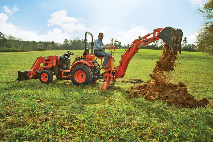 Build A Backhoe: Purchasing a Backhoe Implement for a