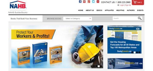 BuilderBooks NAHB Website Screen Grab